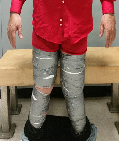 Another man busted with cocaine in his trousers at JFK