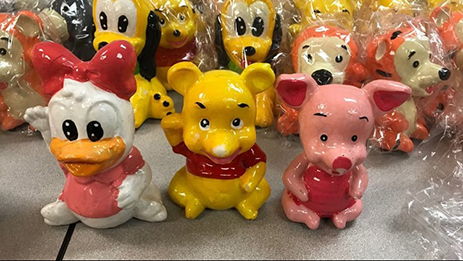 500 pounds of meth found inside Disney figurines in Georgia