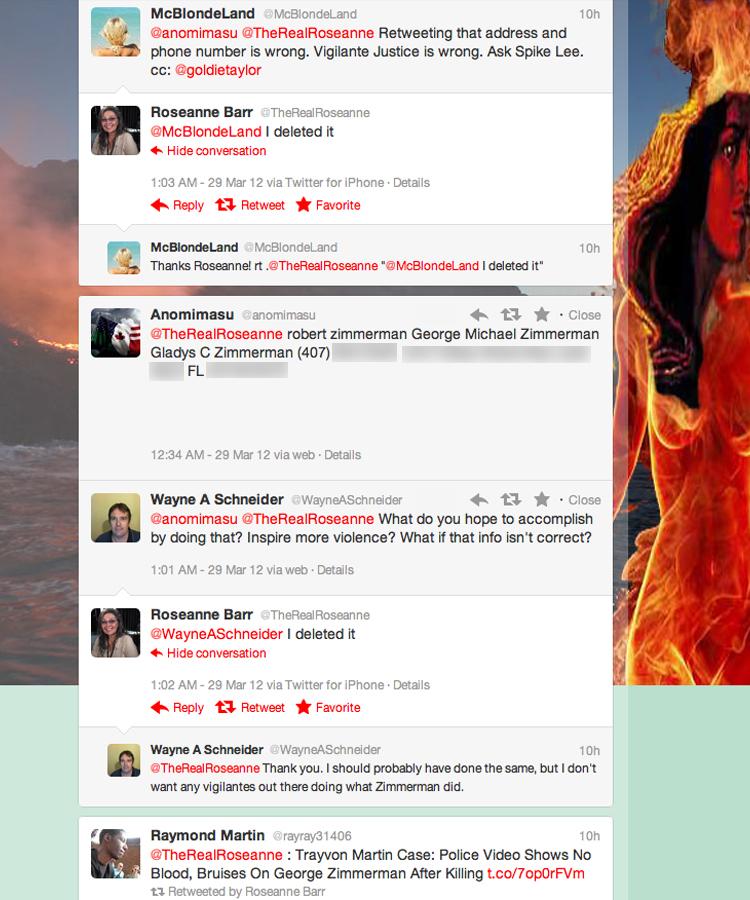 Roseanne Barr Tweets | The Smoking Gun - photo#20