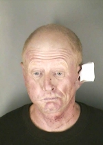 Arrested for aggravated assault, criminal mischief, and resisting an officer.