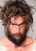 Arrested for making a false report to law enforcement.