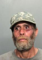 Arrested for burglary, trespassing.