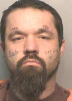 Arrested for narcotics possession.