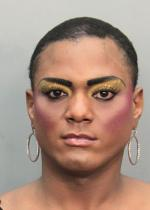 Arrested for prostitution.