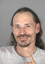 Arrested for grand theft of a motor vehicle.
