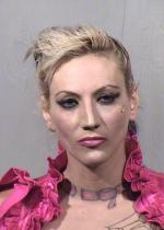 Arrested for narcotics possession.