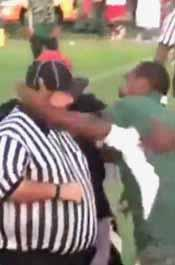 Coach Attacks Referee