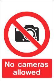 No Cameras