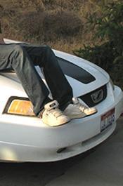 Kid On Car