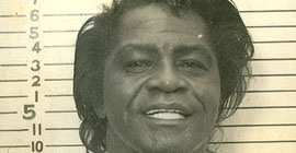 James Brown mug shot