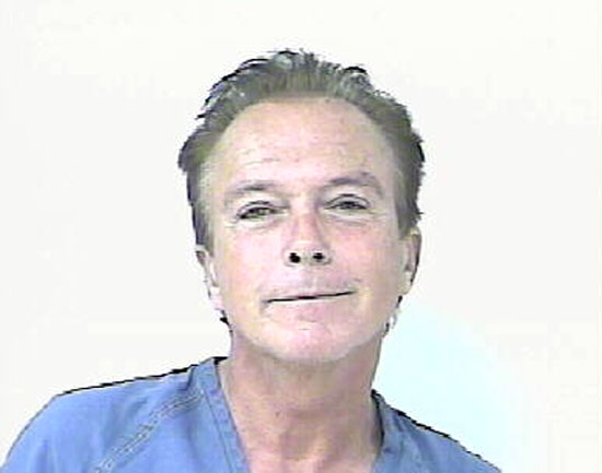 David Cassidy Mug Shot