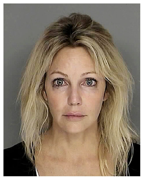 Heather Locklear mugshot