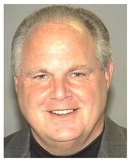 Rush Limbaugh mug shot