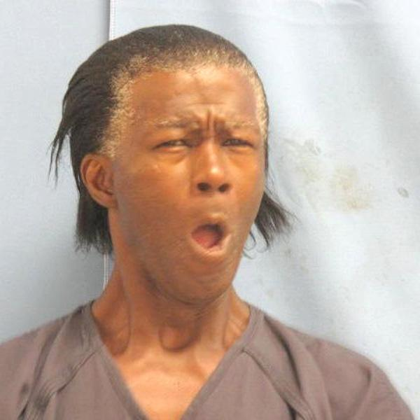 Jailed on a parole hold.