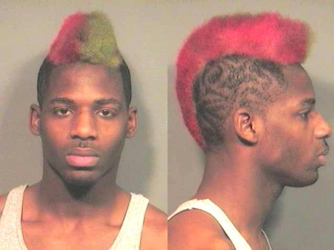 Arrested for driving under suspension, speeding.