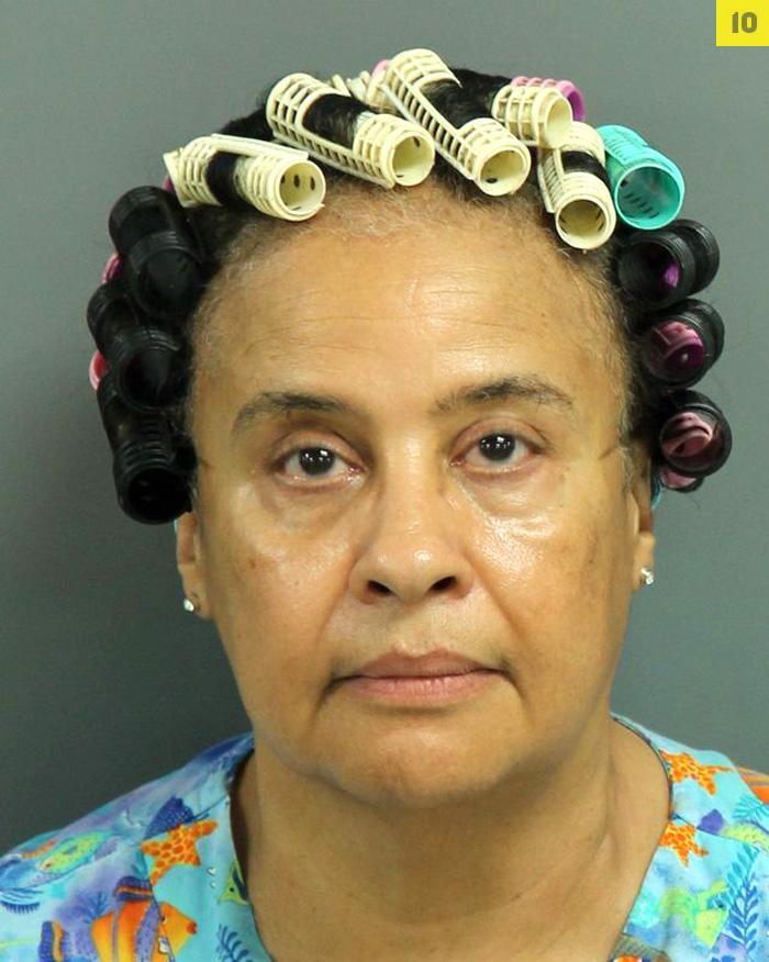 Arrested for attempting to obtain property under false pretense.