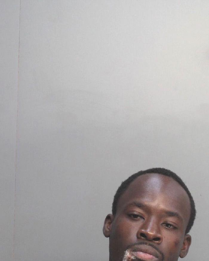 Arrested for carrying a concealed weapon, battery on an officer, and disorderly