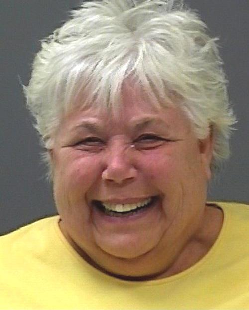 Arrested for battery.