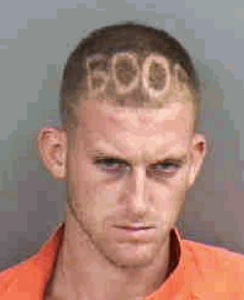 Arrested for burglary, criminal mischief.