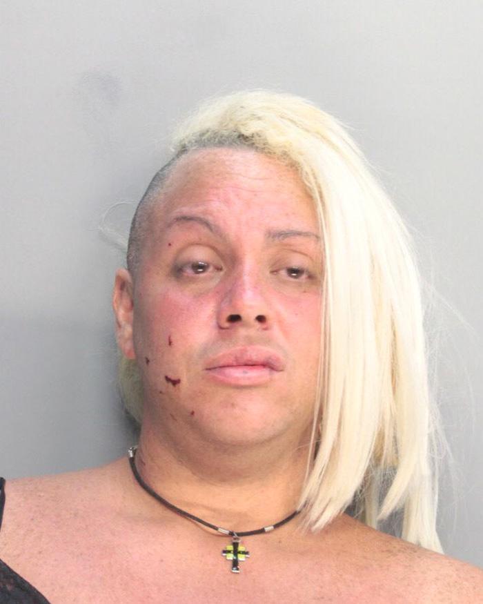 Arrested for burglary.