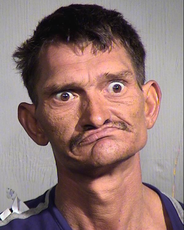 Arrested for possession of drug paraphernalia.