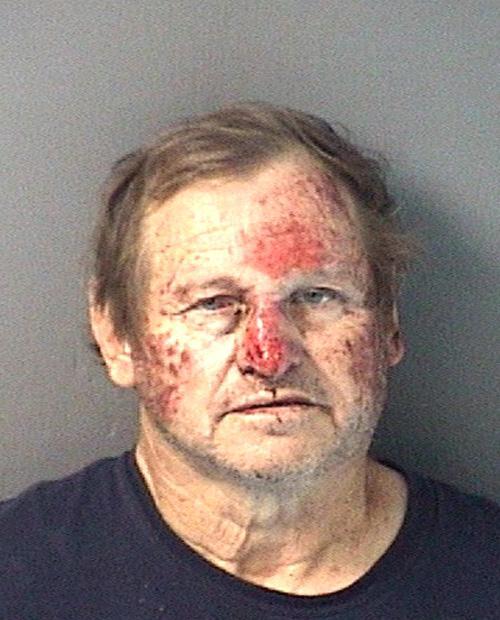 Arrested for battery, burglary.