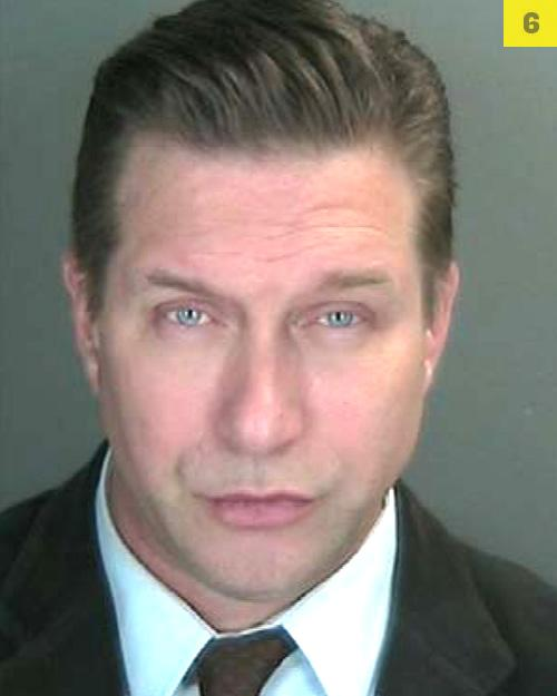 Actor Stephen Baldwin, 46, looked ready for the red carpet following his arrest