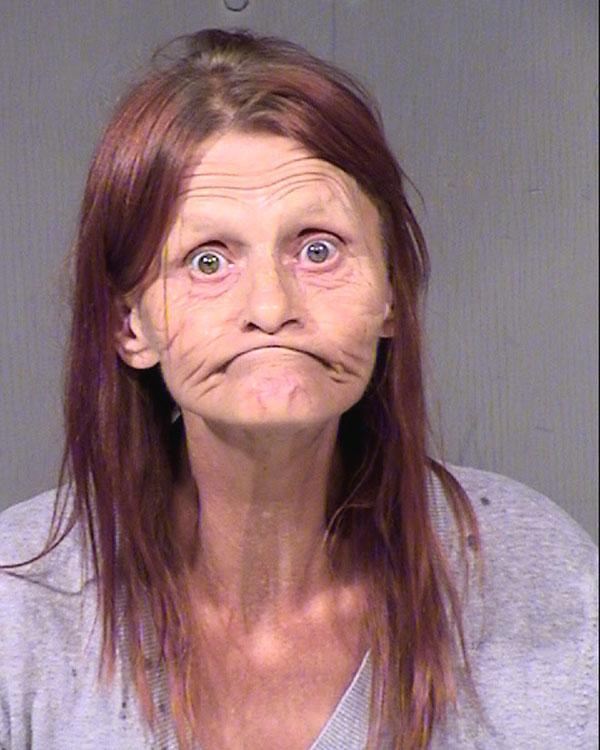 Arrested for theft with property damage, fighting.