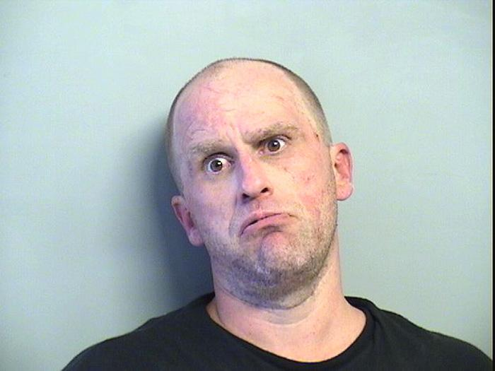 Arrested for assault with a dangerous weapon, possession of a stolen vehicle, an