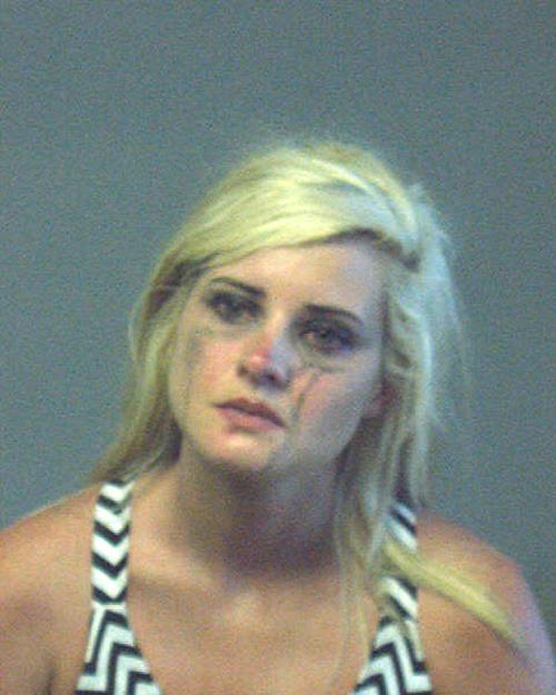 Arrested for DUI, hit and run.