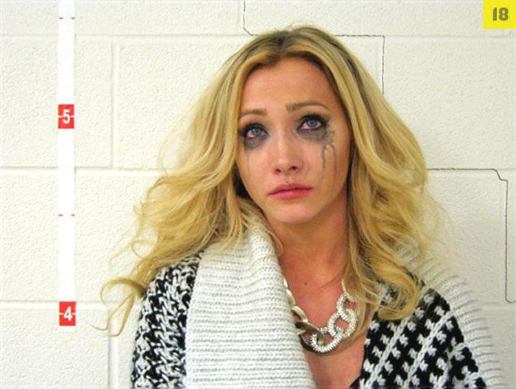 Arrested for drunk driving, failure to comply.