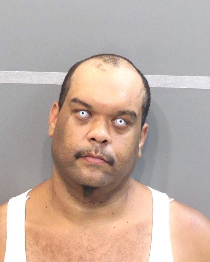 Arrested for a community supervision violation.