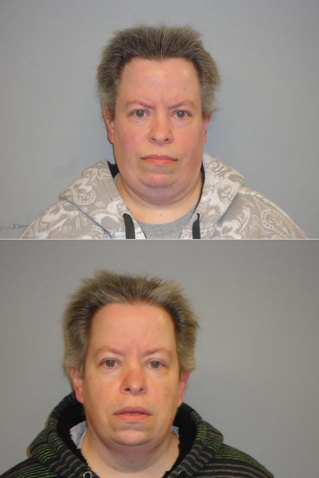 Both women arrested for theft.