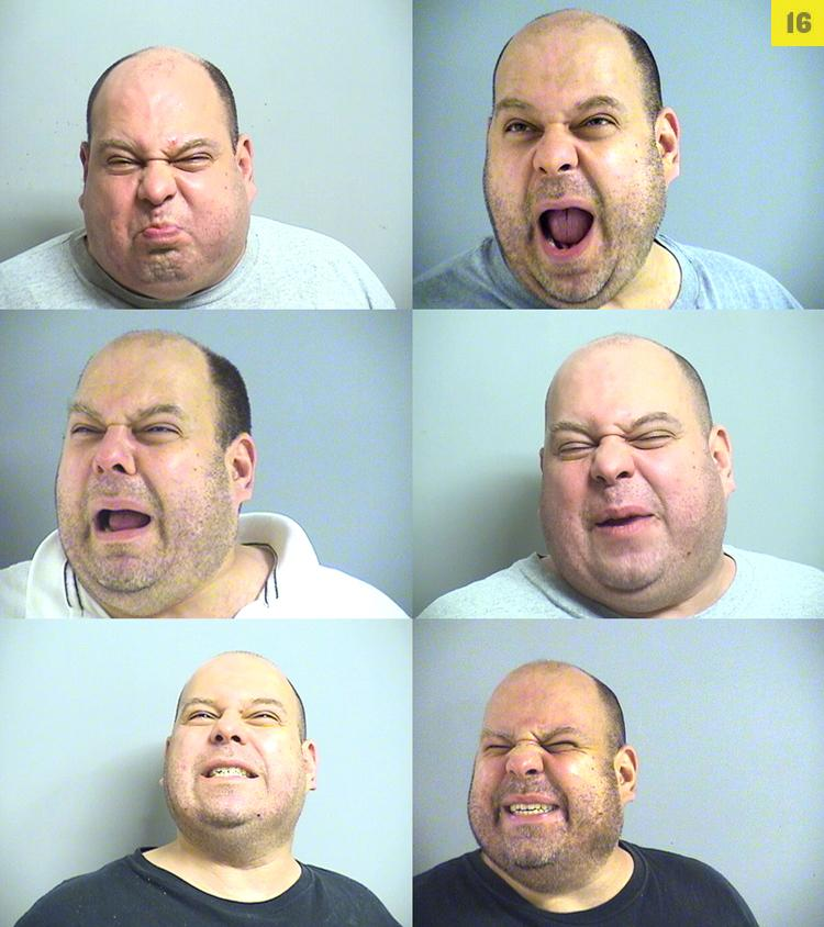 Robert Mrah, 43, is a regular guest at the jail in Tulsa, Oklahoma, where cops f