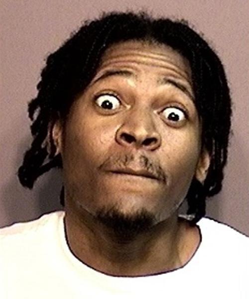 Arrested for assault with a handgun.
