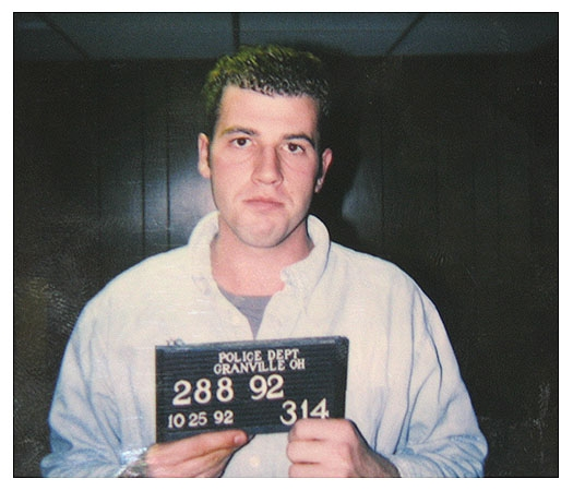James Frey Granville Mug Shot
