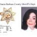 Michael Jackson mug shot