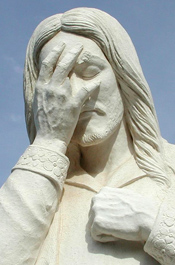 Boy Charged For Desecration Of Jesus Statue | The Smoking Gun