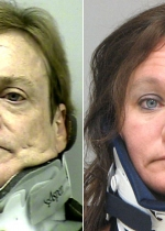 Arrested for DUI (left), serving a jail sentence for DUI (right).