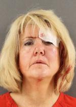 Arrested for domestic assault.