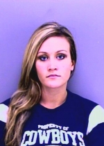 Arrested for speeding, failure to appear.