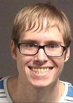 Arrested for criminal mischief.