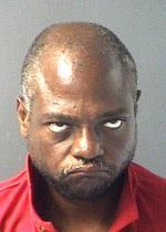 Arrested after bond revocation on a drug charge.