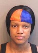 Arrested for harassment.