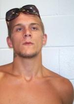 Arrested for manufacturing methamphetamine.
