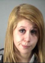 Arrested for retail theft.