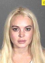 Lindsay Lohan posed for her latest mug shot in October 2011 after a Los Angeles