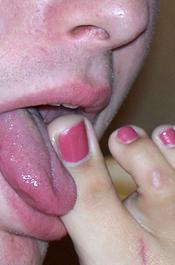 Toe Sucking