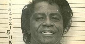 James Brown mug shot