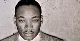 Martin Luther King Jr. mug shot